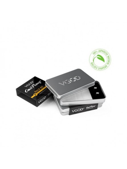 4 Coil Feenz Fused Clapton Coils by VGOD per rigenerabili VGOD Home
