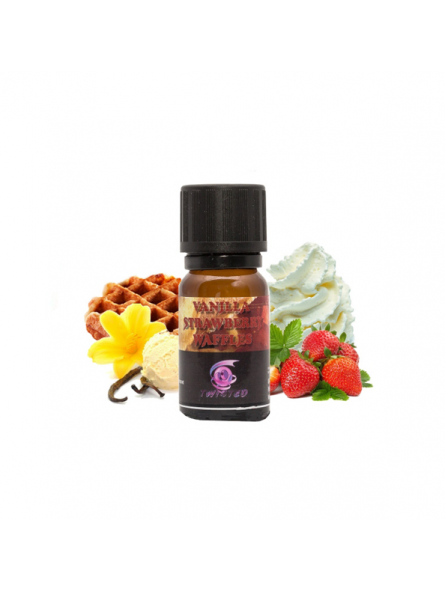Vanilla Strawberry Waffle V2 - Aromi Twisted Vaping Mix & Vape  Home